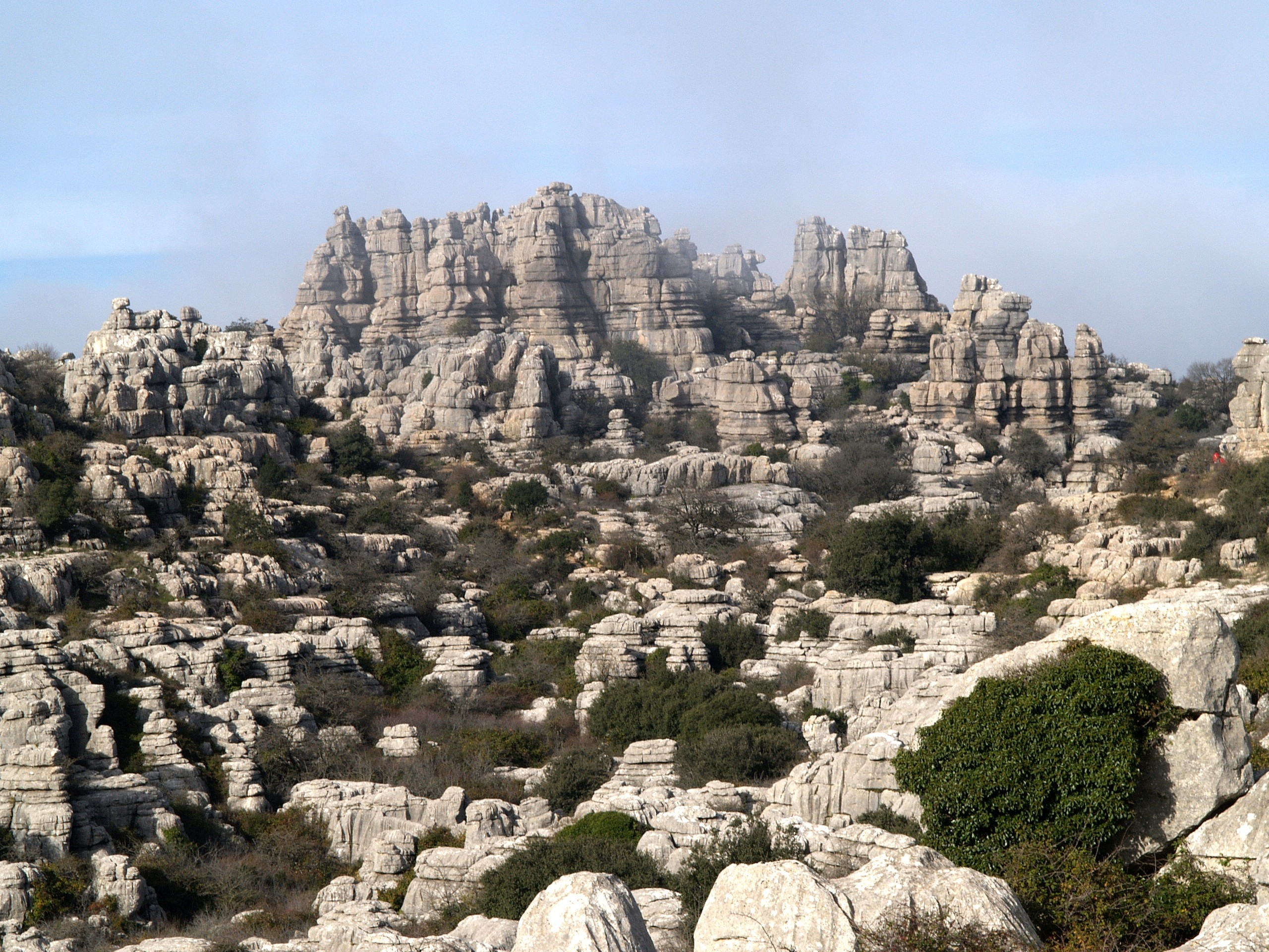 Antequera Dolmens Site: El Torcal de Antequera